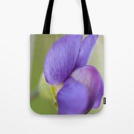 Taking Flight - Purple Lupin, New Zealand Tote Bag