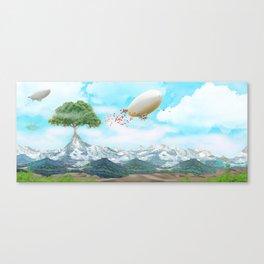 Ballon Skyline Canvas Print