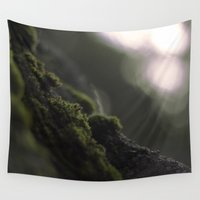 moss Wall Tapestries featuring MOSS by Erin Graboski