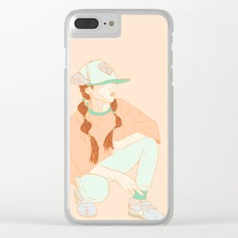 Hype Kids No. 1 Clear iPhone Case