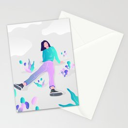 Relaxing in a parallel univers Stationery Cards