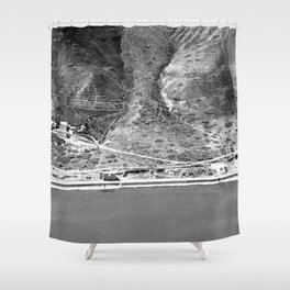 The hot springs. Western shore of Sea of Galilee Shower Curtain