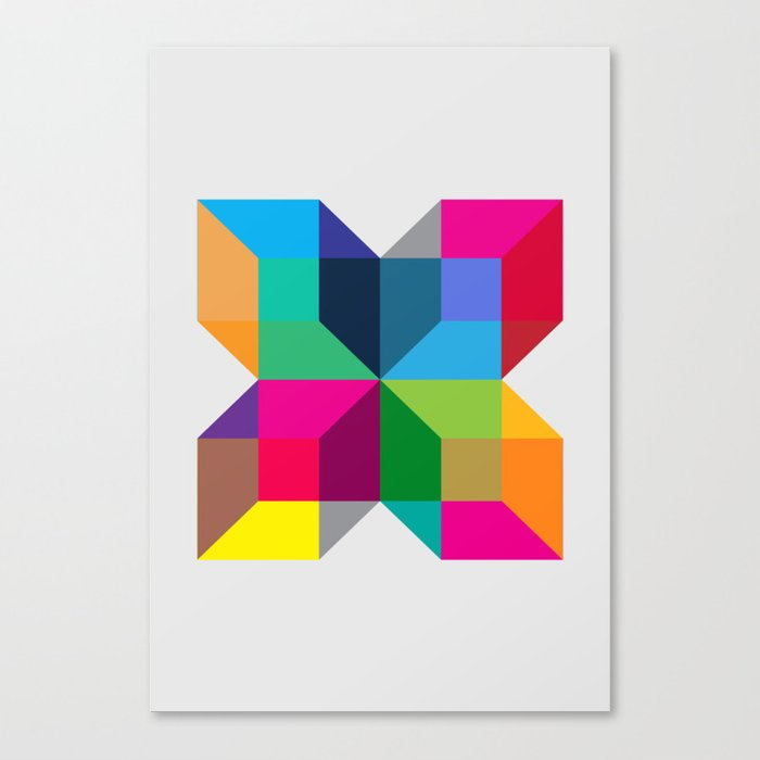 The Intersection Canvas Print