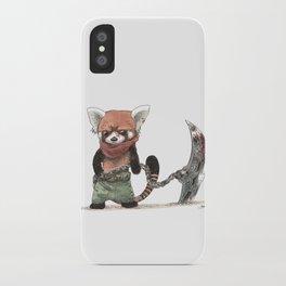 Panda Roux Barbare iPhone Case