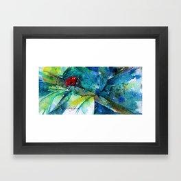 Ladybug - by Kathy Morton Stanion Framed Art Print