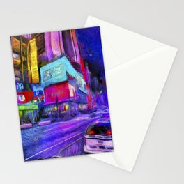 Times Square Van Gogh Stationery Cards