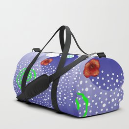 Poppy and rivers Duffle Bag