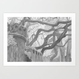 Forest Wall Art Print