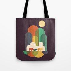 Elephant walk Tote Bag