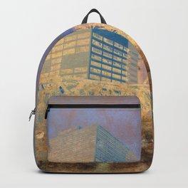 Drawbridge Chicago River City Skyline Backpack