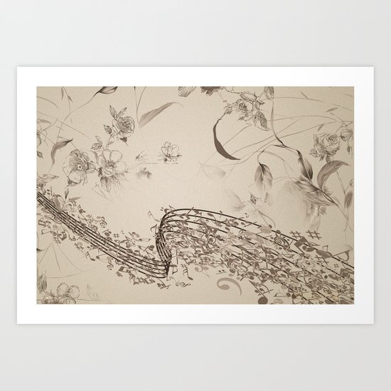 Rhythm of Nature - ANALOG zine Art Print