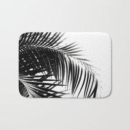 Palm Leaves Black & White Vibes #3 #tropical #decor #art #society6 Bath Mat