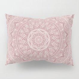 Mandala - Powder pink Pillow Sham