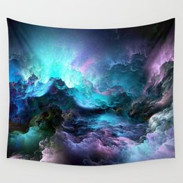 Space storm Wall Tapestry