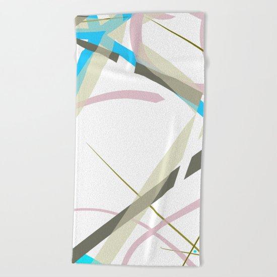 design 3 Beach Towel