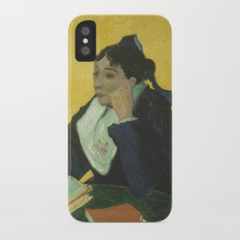 Portrait of Madame Ginoux iPhone Case