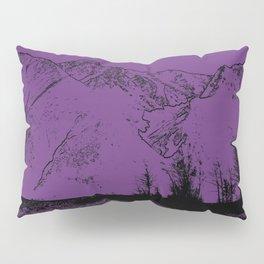 Knik River Mts. Pop Art - 2 Pillow Sham