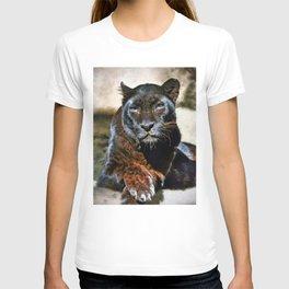 The Black Leopard T-shirt