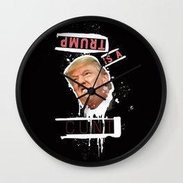 Trump is a c**t Wall Clock