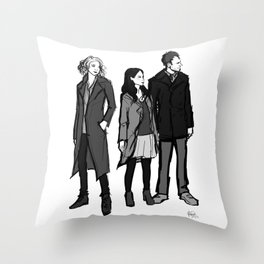 elementary: the diabolical kind Throw Pillow