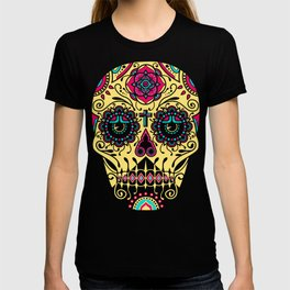 Deco Sugar Skull 3 T-shirt