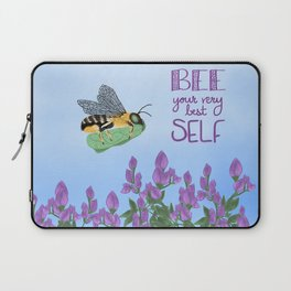 Bee your very best self Laptop Sleeve