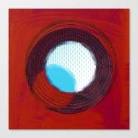 aperture Canvas Prints featuring aperture 2 by Ricochet  Elm  Studio