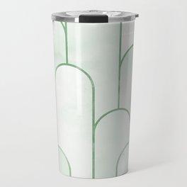 Arch Decor Green Travel Mug