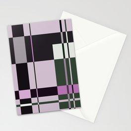 Interesting Geometry - Pale, pastel artwork Stationery Cards