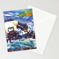Sunset ♥ Bear Stationery Cards