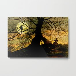 A mysterious place Metal Print