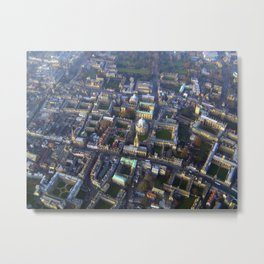 Oxford from above Metal Print