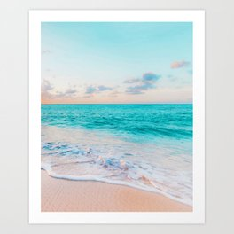2be36ba59 Ocean Bliss #society6 #society6artprint #buyart Art Print
