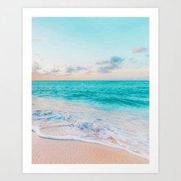 Ocean Bliss #society6 #society6artprint #buyart Art Print
