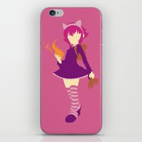 annie hall iPhone & iPod Skins featuring Annie by Polvo