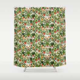 Garden Pots Shower Curtain