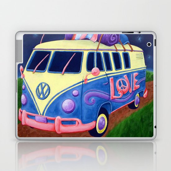 Hippie Van Laptop & iPad Skin