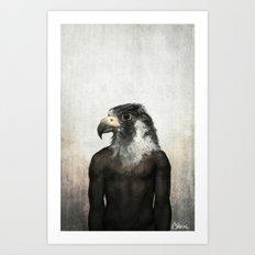 Horus (Alt) Art Print
