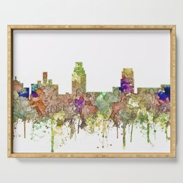 Camden, New Jersey Skyline SG - Faded Glory Serving Tray