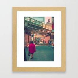 TOKYO RED Framed Art Print