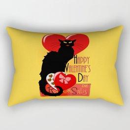 Le Chat Noir Valentine Rectangular Pillow