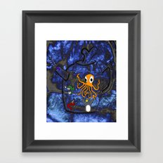 Kettle of Fish (No Text) Framed Art Print
