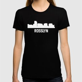 Rosslyn Virginia Skyline Cityscape T-shirt