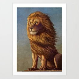 Lion King Art Print