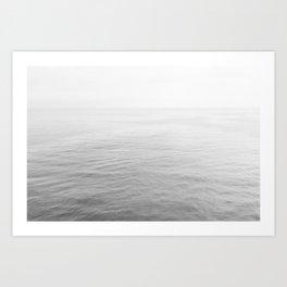 Malibu B&W Art Print