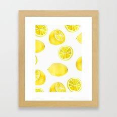 Lemon -ade Framed Art Print