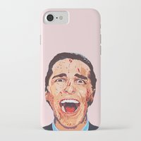 american psycho iPhone & iPod Cases featuring American Psycho by LookingForNikky