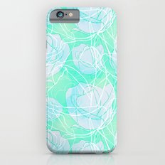 Blue roses iPhone 6s Slim Case