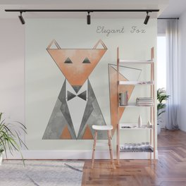 Elegant Fox Wall Mural