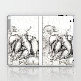 Rats Feeding on Milk Laptop & iPad Skin